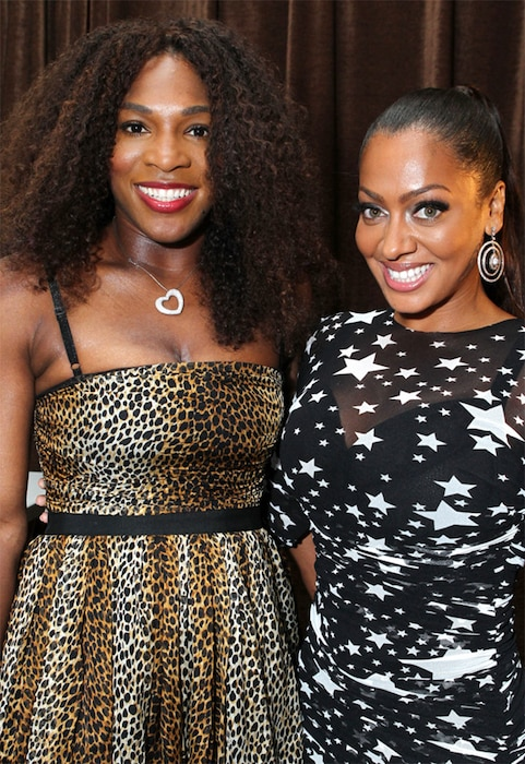 Serena Williams, La La Anthony