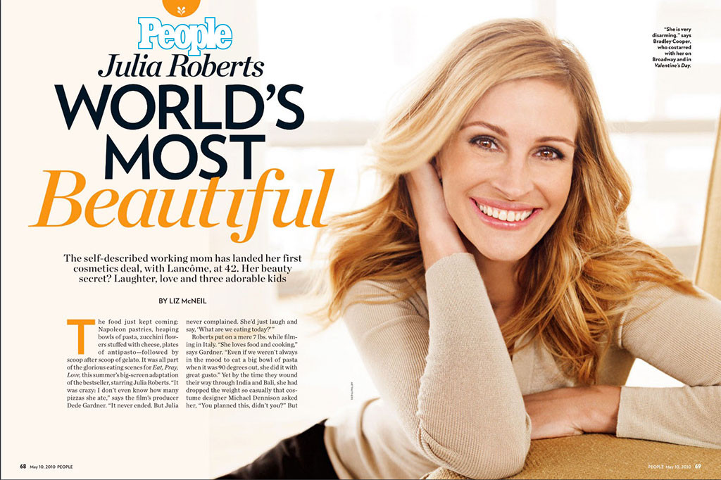 Julia Roberts, People Magazine Covers