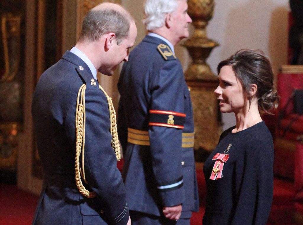 Victoria Beckham, Prince William, Duke of Cambridge