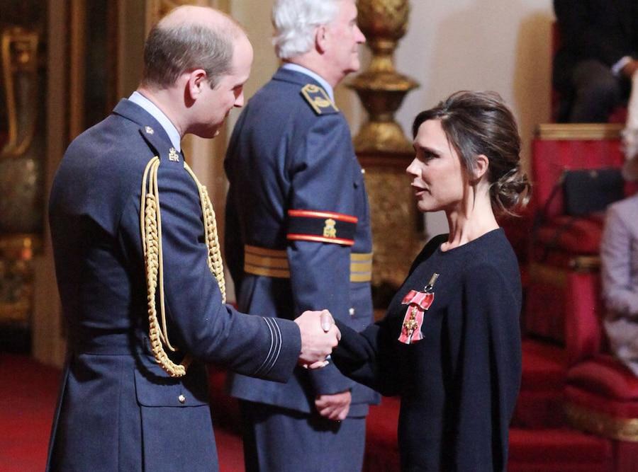 Victoria Beckham, Prince William, Duke of Cambridge