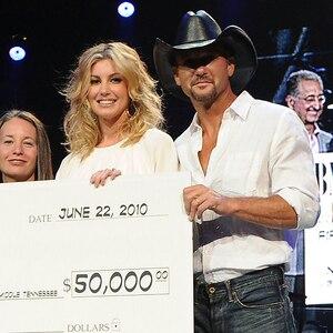 Faith Hill, Tim McGraw, Nashville Benefit