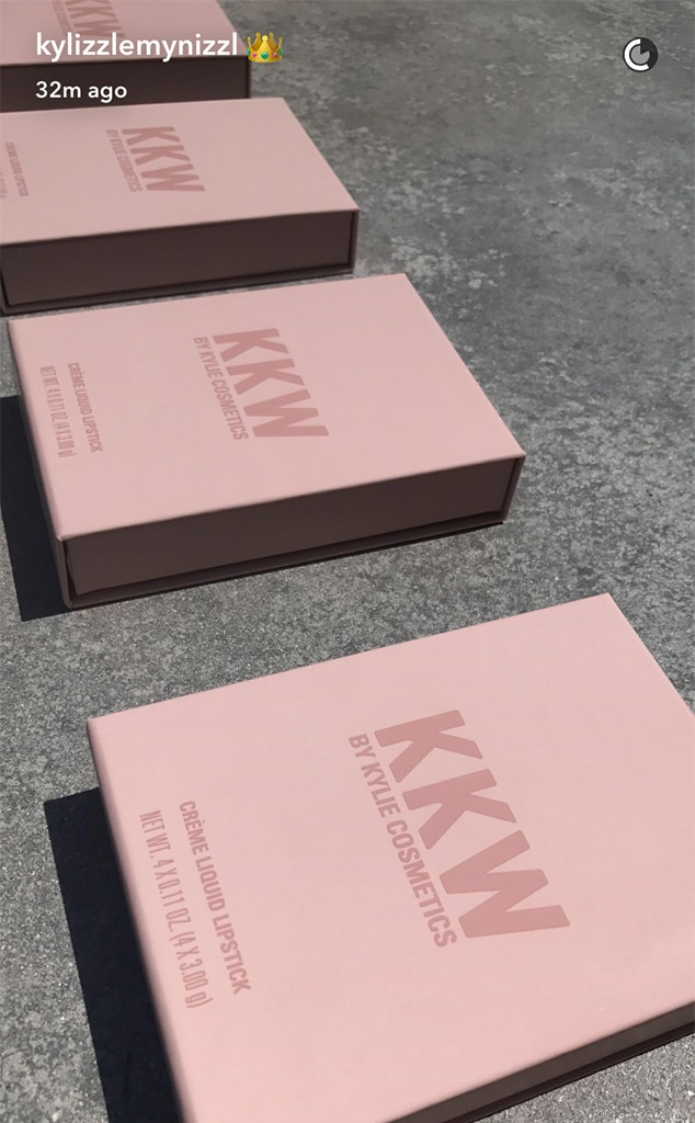 Kylie Jenner, Kim Kardashian, KKW x Kylie Cosmetics, Lipsticks