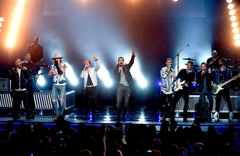 Backstreet Boys, Florida Georgia Line, 2017 Academy of Country Music Awards