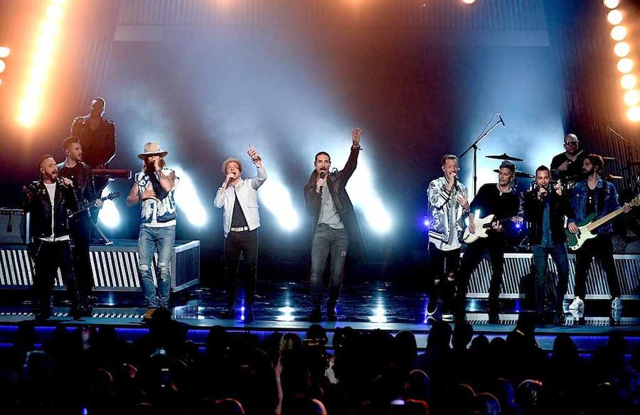 Backstreet Boys, Florida Georgia Line, 2017 Academy of Country Music Awards