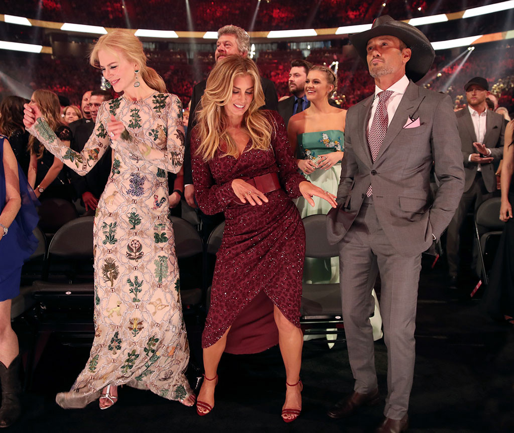 Nicole Kidman, Faith Hill, Tim McGraw, 2017 Academy of Country Music Awards, Candids