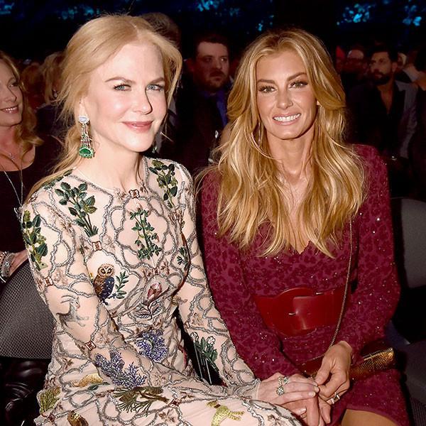 Nicole Kidman, Faith Hill, 2017 Academy of Country Music Awards, Candids