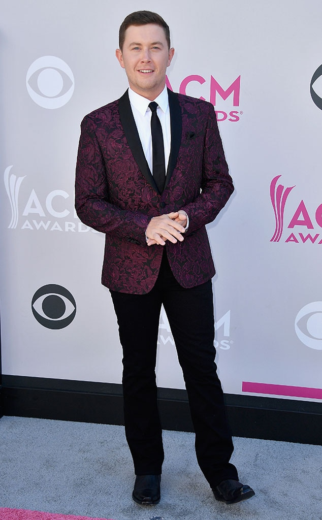 Scotty McCreery, 2017 ACM Awards, Arrivals