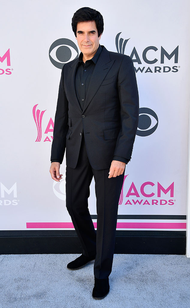 David Copperfield, 2017 ACM Awards, Arrivals