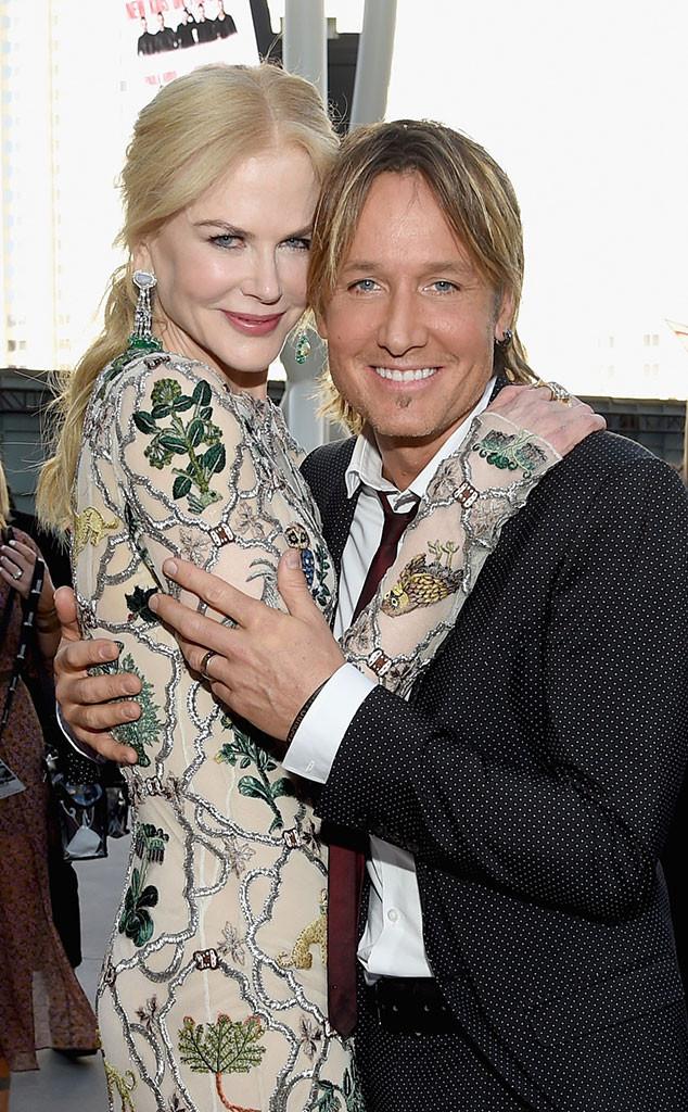 Nicole Kidman, Keith Urban, 2017 Academy of Country Music Awards, Candids