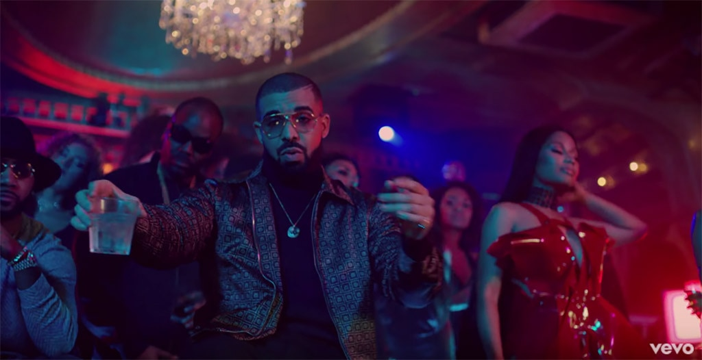 Drake, No Frauds Music Video, Turtleneck