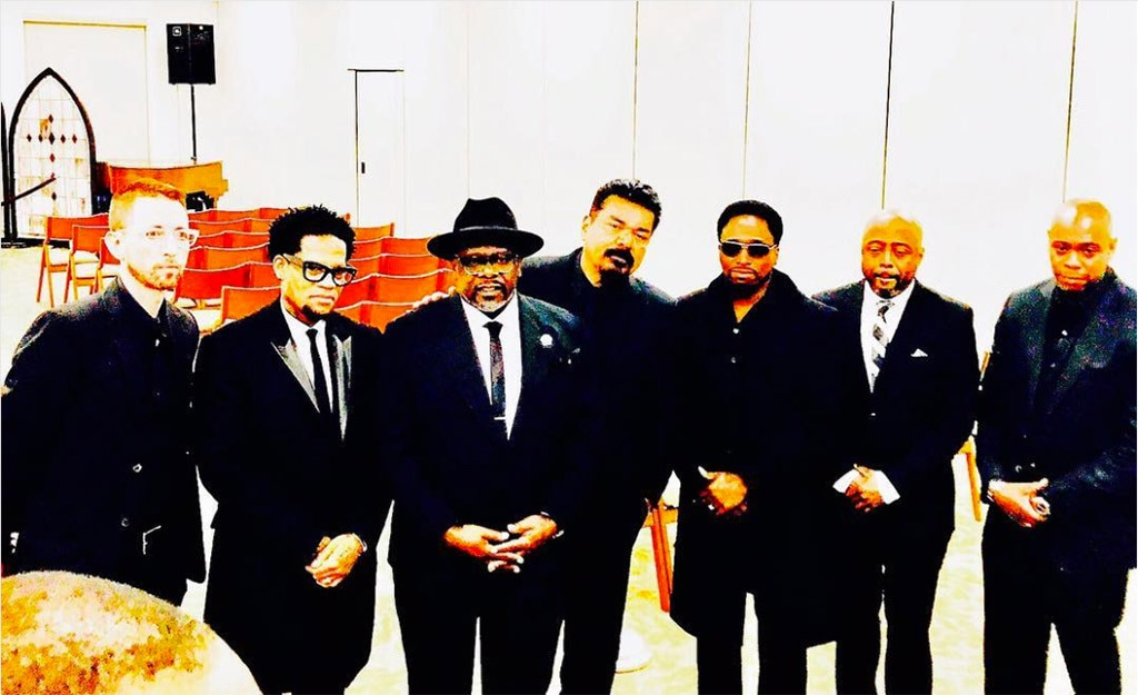 Cedric the Entertainer, Dave Chappelle, George Lopez, D.L. Hughley, Donnell Rawlings, Charlie Murphy Funeral