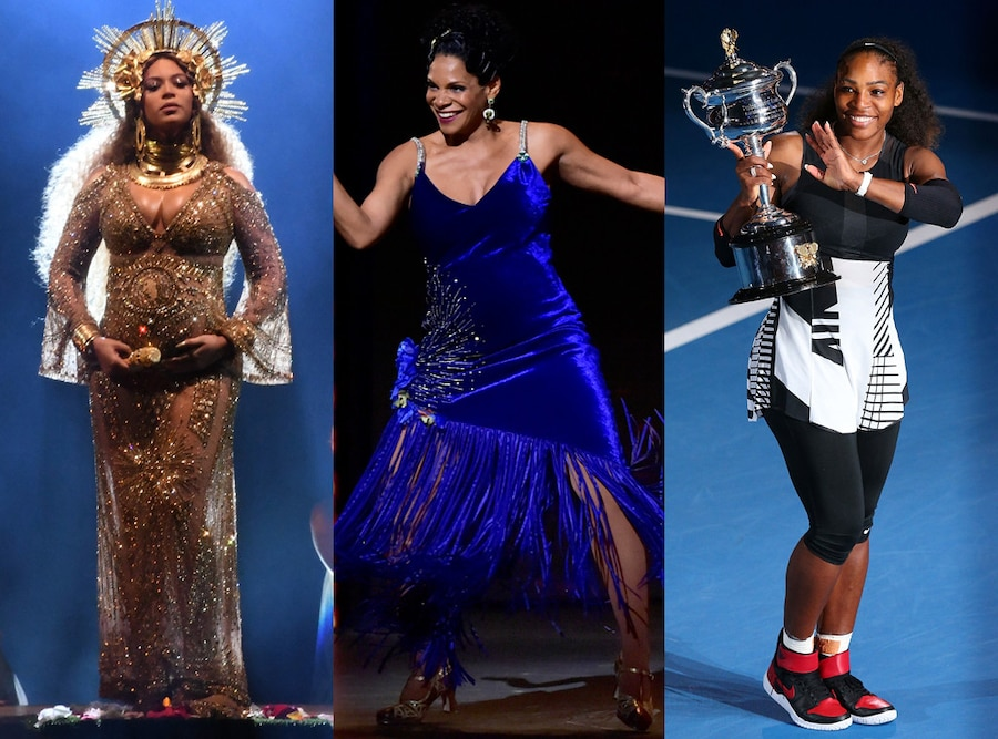 Beyonce, Audra McDonald, Serna Williams, Pregnant and Powerful