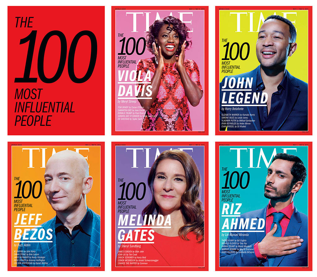 Time 100, 2017 Covers