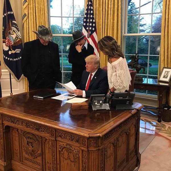 Sarah Palin, Ted Nugent, Kid Rock, Donald Trump