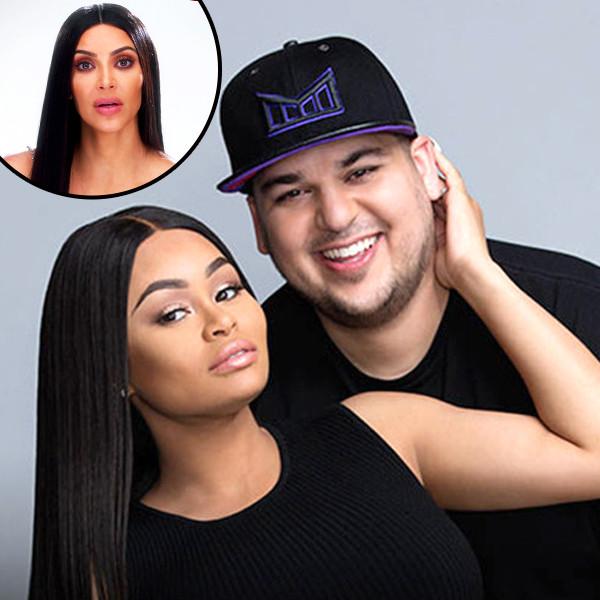 Rob Kardashian, Blac Chyna, Kim Kardashian