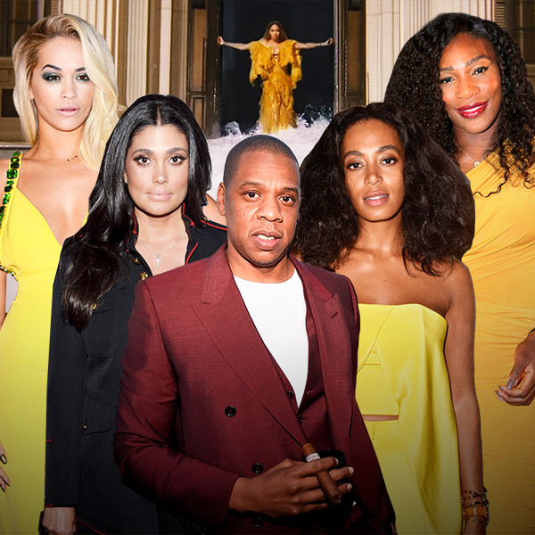 Lemonade Anniversary, Rita Ora, Rachel Roy, Jay Z, Solange Knowles, Serena Williams