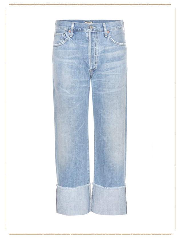 ESC: Cuffed Jeans