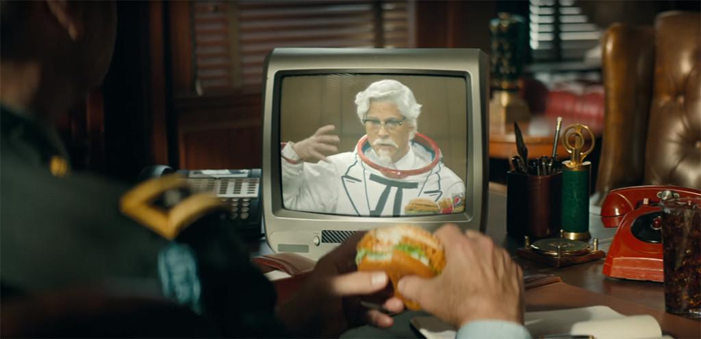 Rob Lowe, KFC, Colonel Sanders, Ad