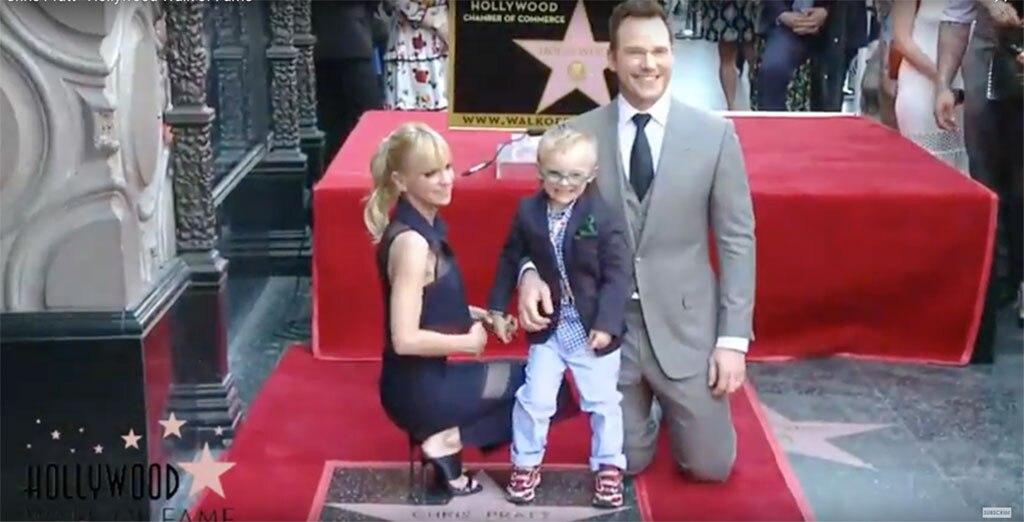 Chris Pratt, Anna Faris, Jack