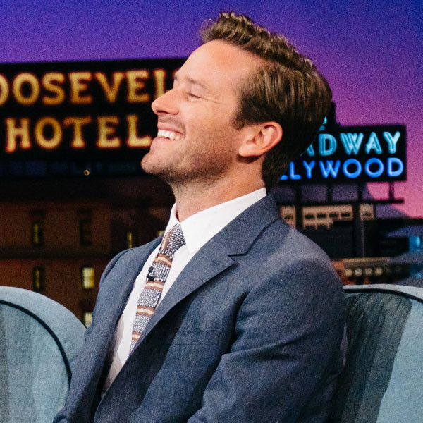 Armie Hammer, The Late Late Show
