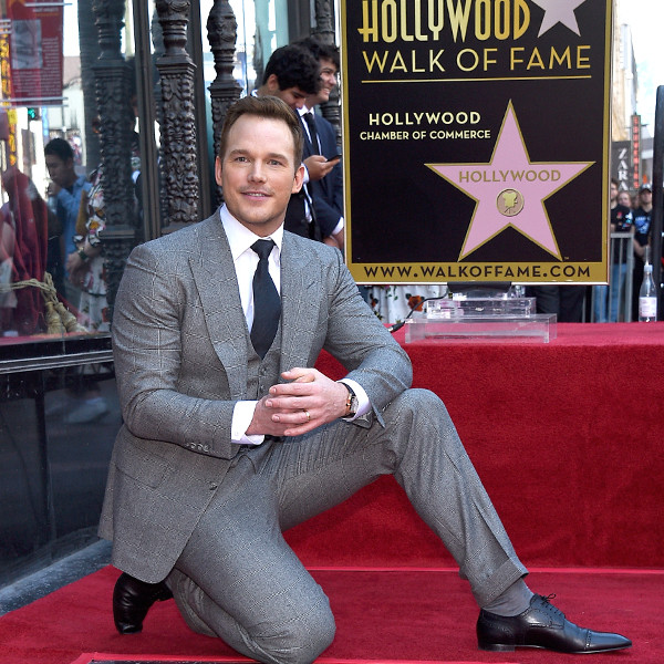 Chris Pratt, Hollywood Walk of Fame