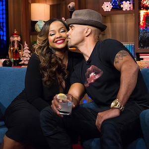 Phaedra Parks, Shemar Moore, Watch What Happens Live