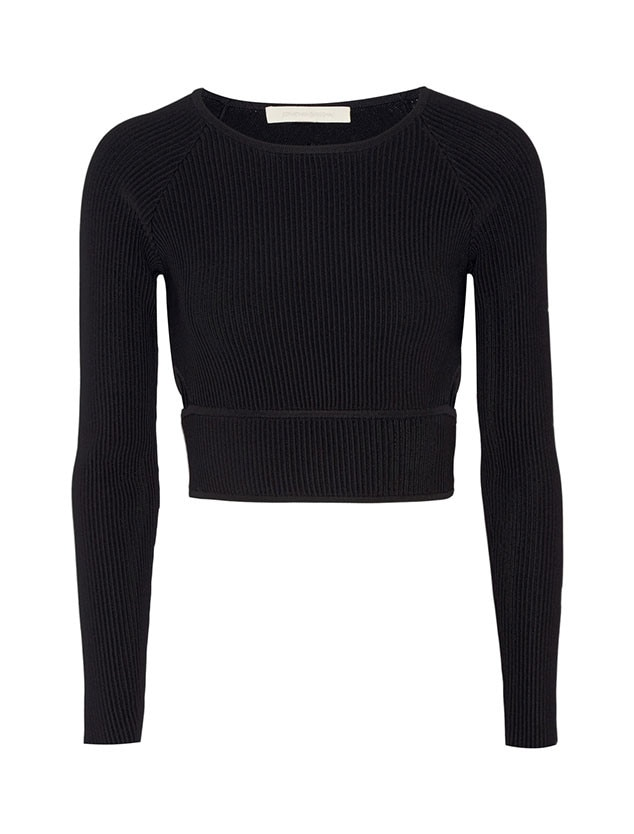 ESC: Long-Sleeved Crop Tops