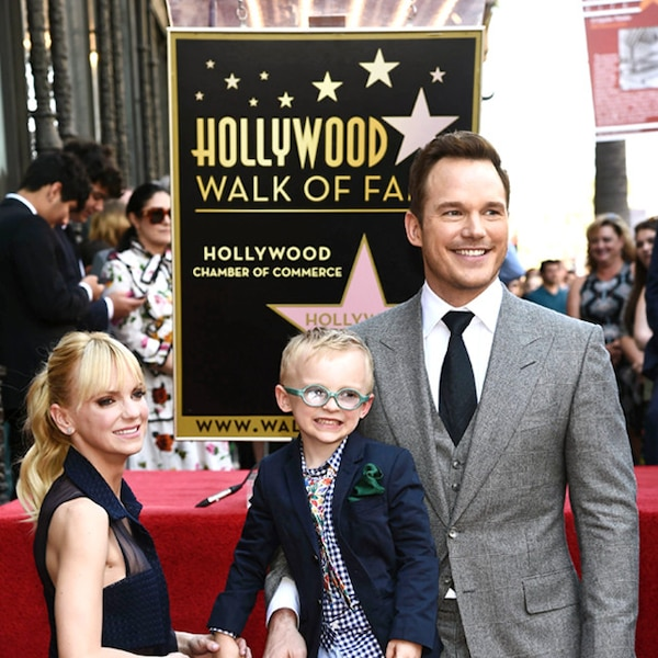 Star Of Fame From Chris Pratt And Anna Faris' Cutest