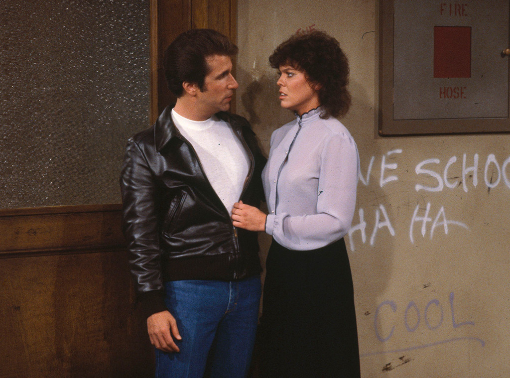 Happy Days Cast, Erin Moran, Henry Winkler