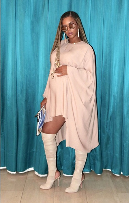 Beyonce, Pregnant, Instagram