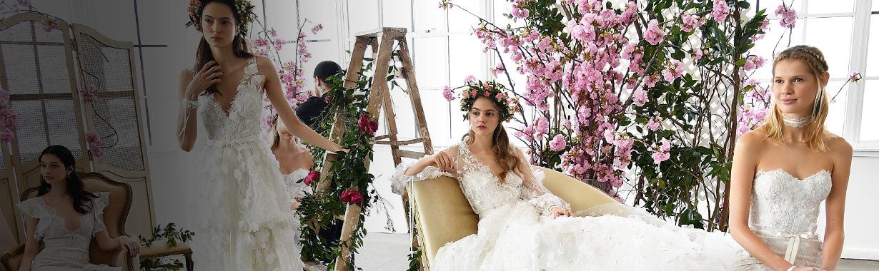 ESC: Bridal Fashion Week, Spring 2018, Marchesa