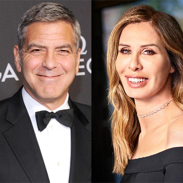 George Clooney, Carol Radziwill