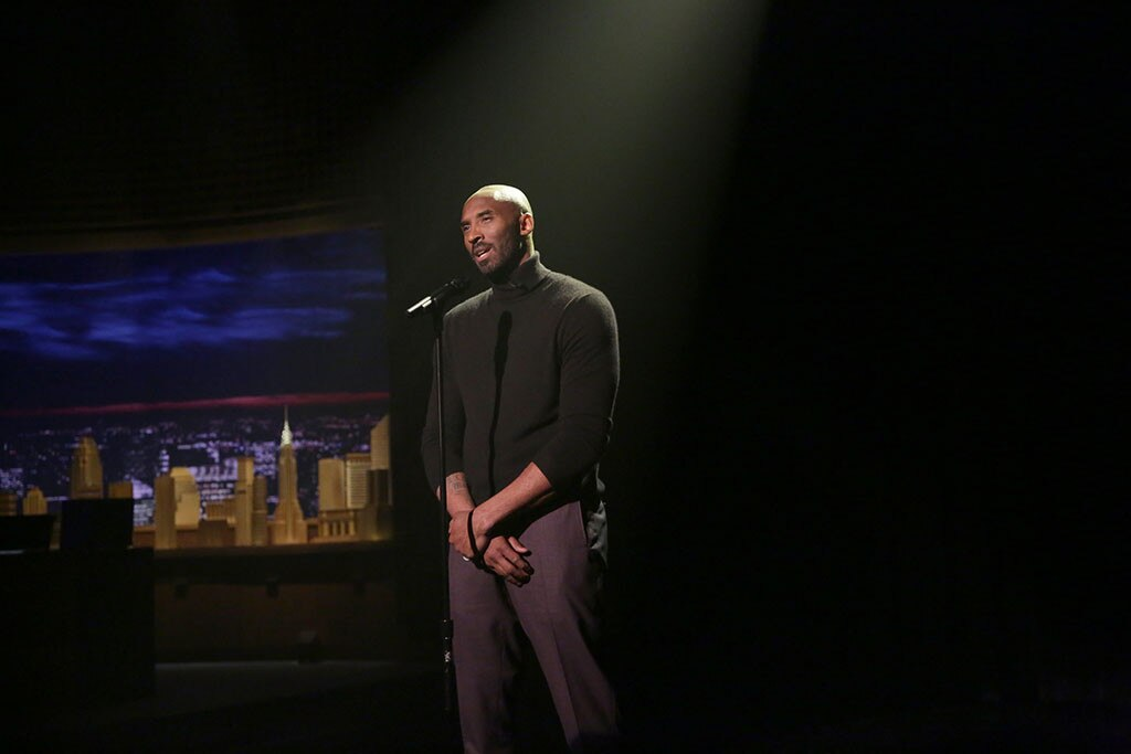 Kobe Bryant, The Tonight Show