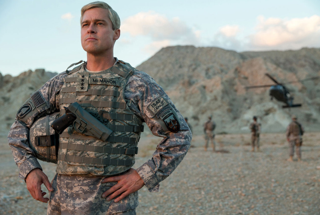 War Machine, Brad Pitt