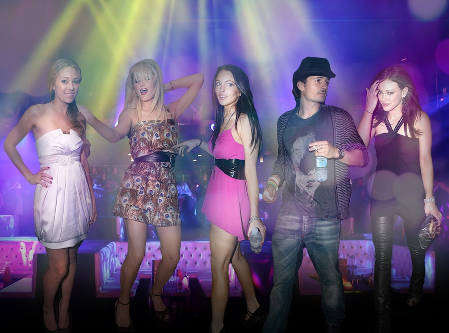 Young Hollywood, Lindsay Lohan, Paris Hilton, Lauren Conrad, Orlando Bloom, Hilary Duff