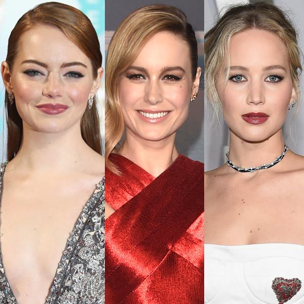Emma Stone, Brie Larson, Jennifer Lawrence