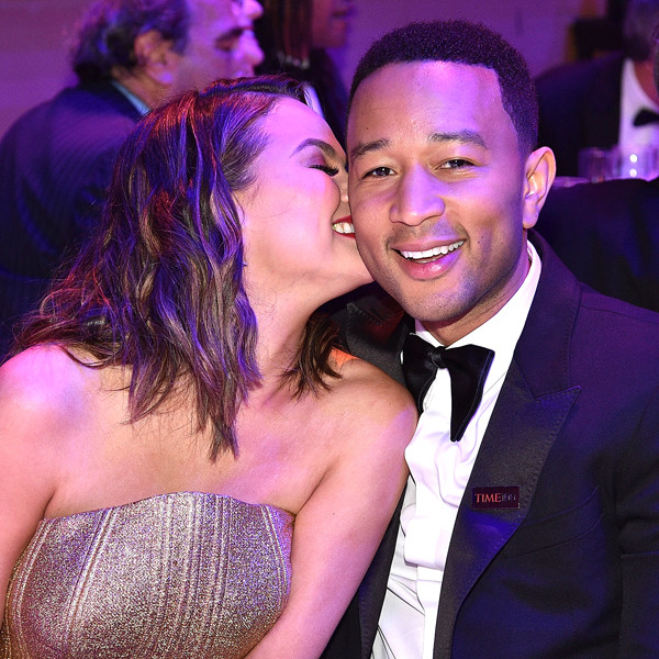 John Legend, Chrissy Teigen, Time 100 Gala