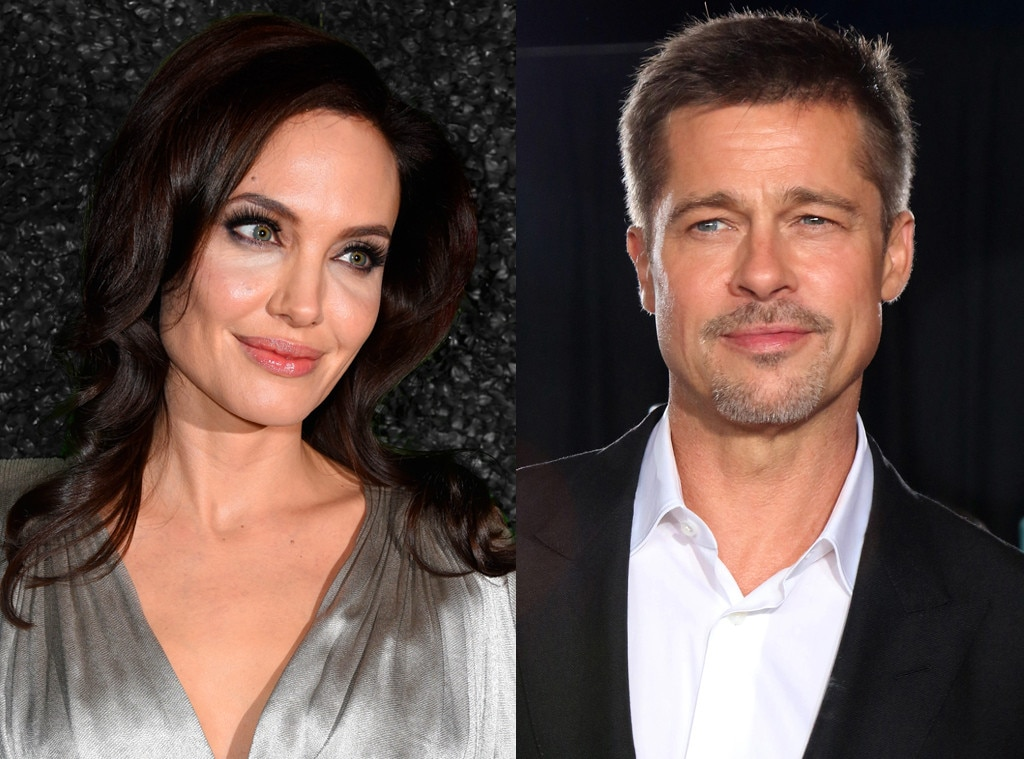 Angelina Jolie And Brad Pitt's Kids Spend Time With Him Before Father's Day