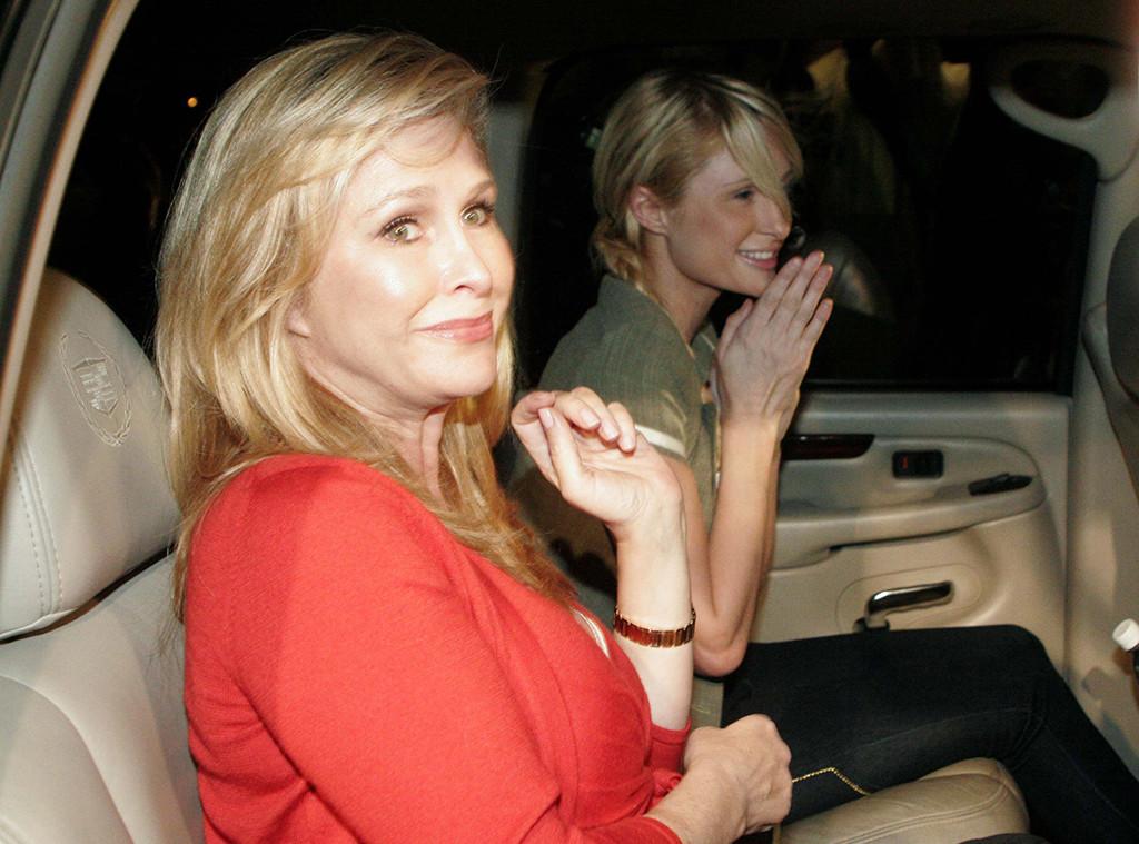 Paris Hilton Leaving Jail, Kathy Hilton, 2007