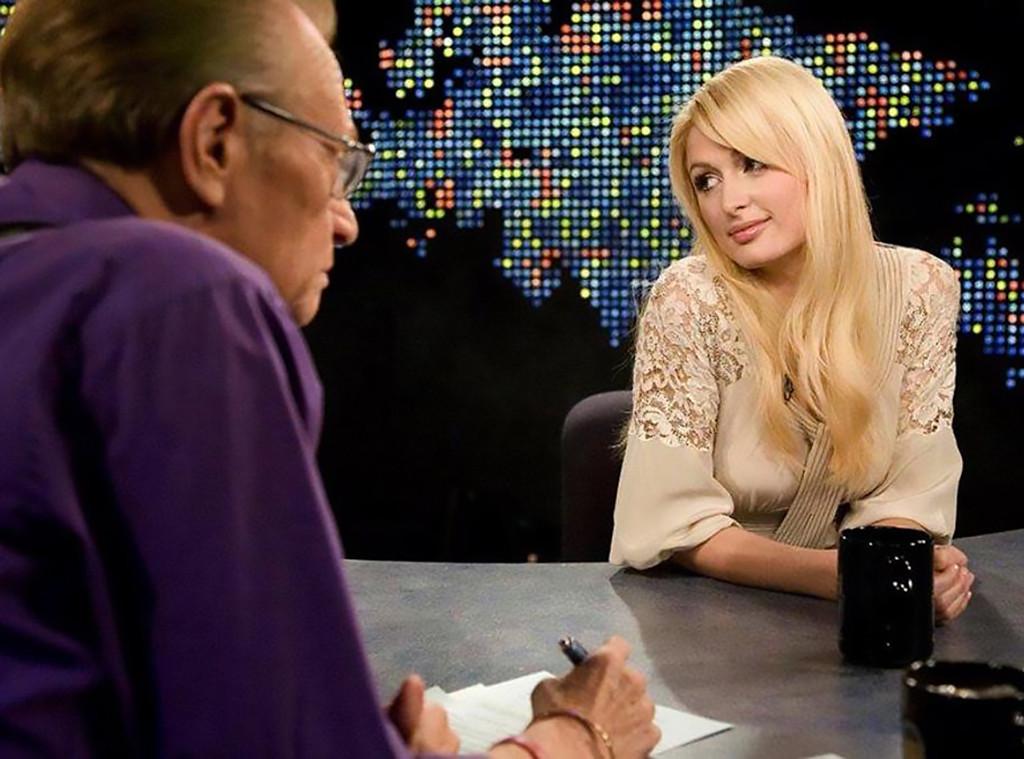Paris Hilton, Larry King, CNN, 2007