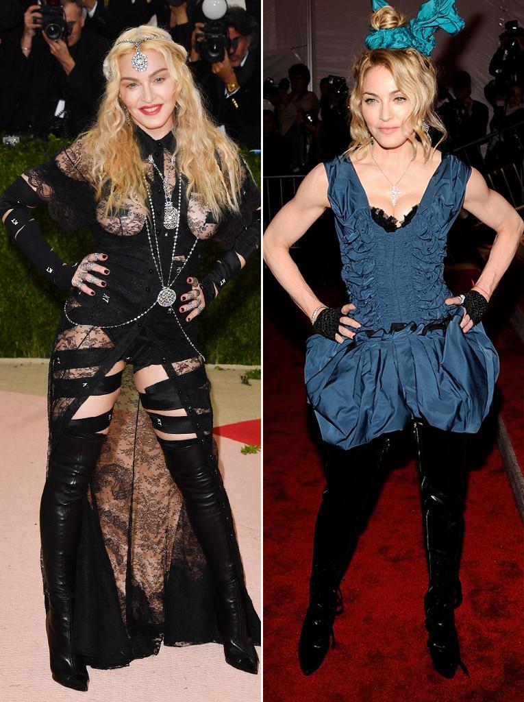 ESC: Met Gala,  Madonna, 2009/2016