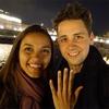 Jessica Lucas, Alex Jermasek, Engagement Ring