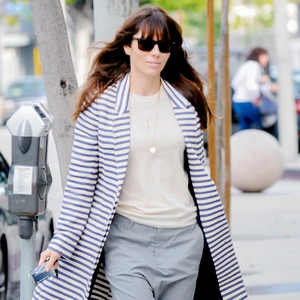 Jessica Biel's Street Style