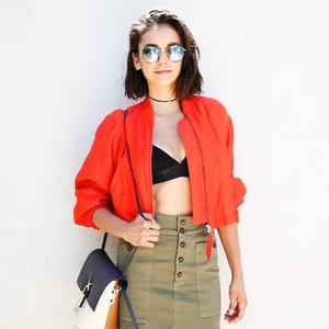 ESC: Nina Dobrev, Dare to Wear