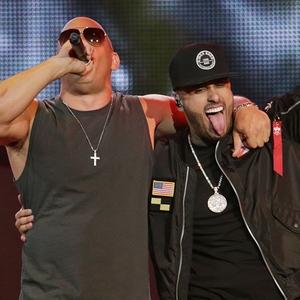 Nicky Jam, Vin Diesel, 2017 Latin Billboard Awards