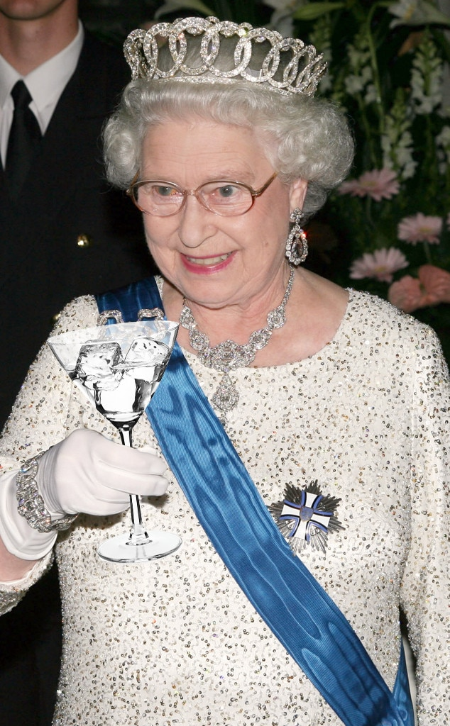 Queen Elizabeth, Drinking