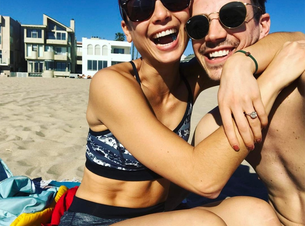 Grant Gustin of 'The Flash' engaged to LA Thoma