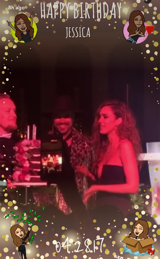 Jessica Alba, Birthday Party, Shay Mitchell, Snapchat
