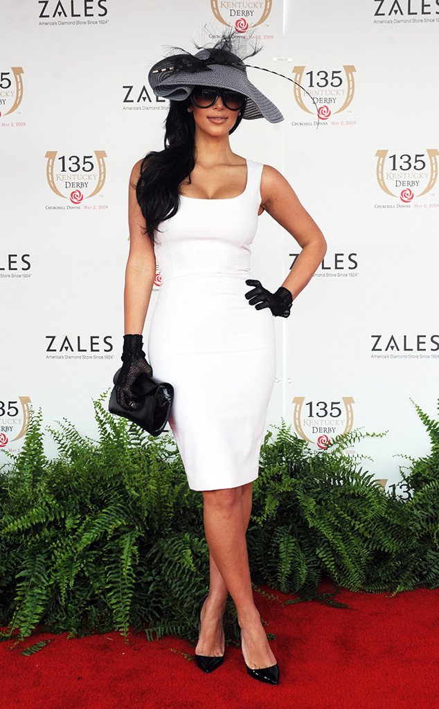 Kim Kardashian, Kentucky Derby