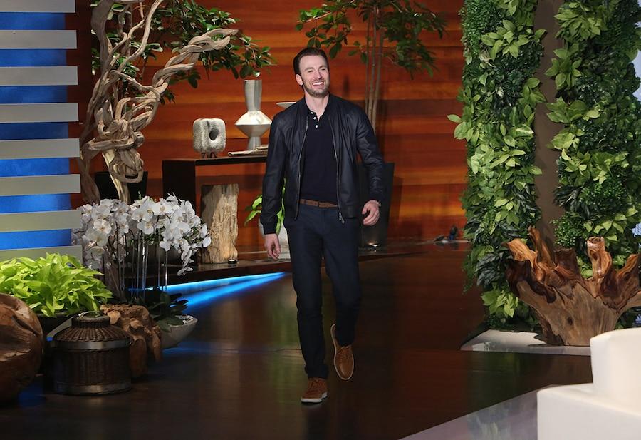 Chris Evans, The Ellen DeGeneres Show